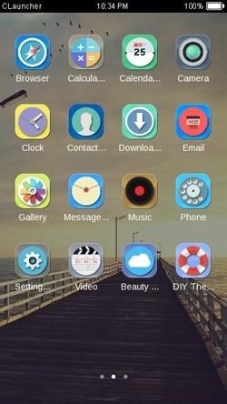 Bridge CLauncher Android Theme Image 2