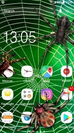 Spider 3D Android Wallpaper Image 2