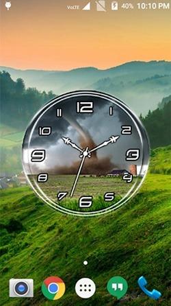 Download Free Android Wallpaper Tornado Clock 4283 Mobilesmspk Net