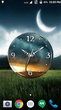 Tornado: Clock Android Wallpaper Image 3