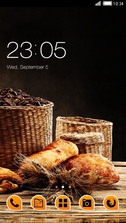 Bread CLauncher Android Theme Image 1