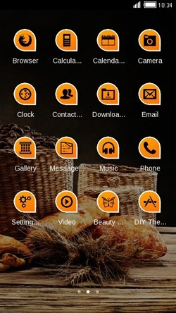 Bread CLauncher Android Theme Image 2