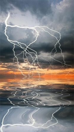 Thunderstorm Android Wallpaper Image 4