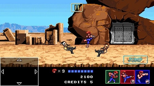 Double Dragon 4 Android Game Image 2