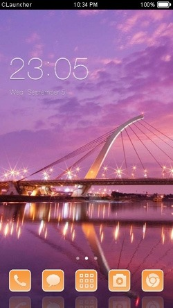 Bridge CLauncher Android Theme Image 1