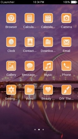 Bridge CLauncher Android Theme Image 2