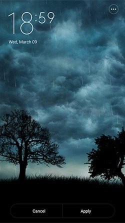 Live Storm Android Wallpaper Image 1