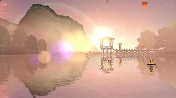 Lantern Festival 3D Android Wallpaper Image 2