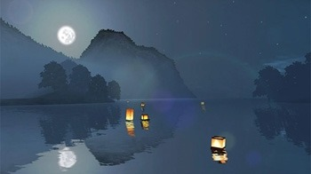 Lantern Festival 3D Android Wallpaper Image 3