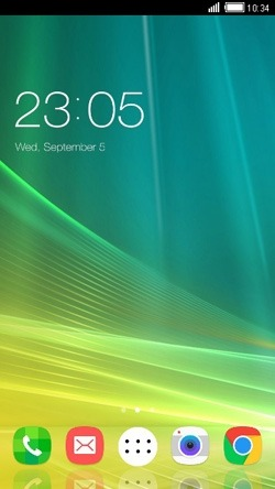 Abstract CLauncher Android Theme Image 1