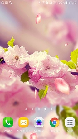 Flowers 3D Android Wallpaper Image 2