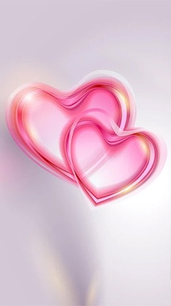 Romantic Hearts Android Wallpaper Image 2