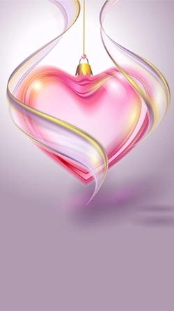 Romantic Hearts Android Wallpaper Image 3