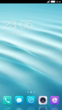 Waves CLauncher Android Theme Image 1