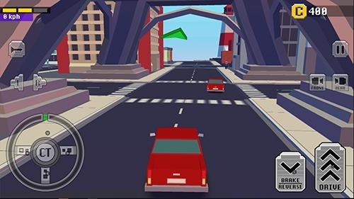 Crazy Car: Fast Driving In Town Android Game Image 3