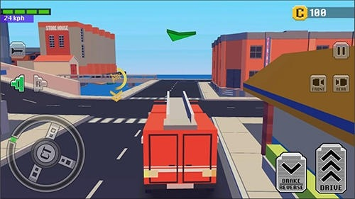 Crazy Car: Fast Driving In Town Android Game Image 4