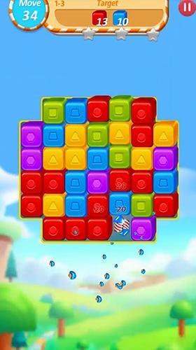 Cube Crush: Collapse And Blast Game Android Game Image 3