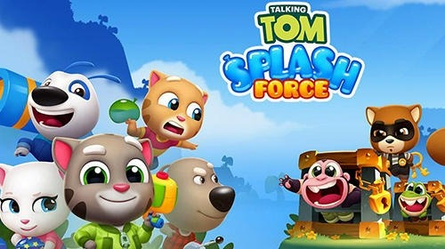 Talking Tom Splash Force Android Game Image 1