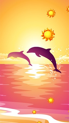Dolphins Android Wallpaper Image 1