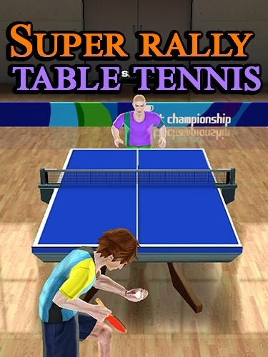 Super Rally Table Tennis Android Game Image 1
