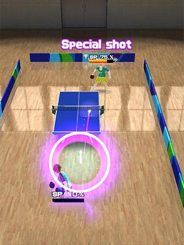 Super Rally Table Tennis Android Game Image 3