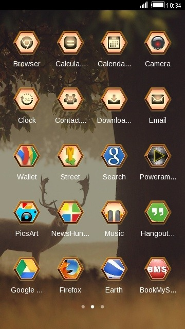 Deer CLauncher Android Theme Image 2