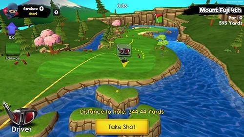 Ninja Golf Android Game Image 2