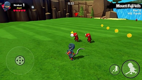 Ninja Golf Android Game Image 3