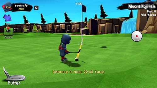 Ninja Golf Android Game Image 4