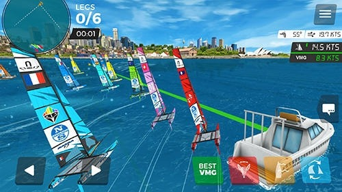 Virtual Regatta Inshore Android Game Image 2