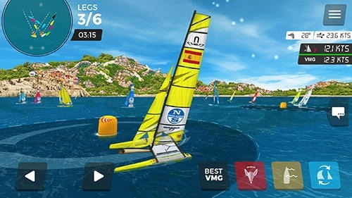Virtual Regatta Inshore Android Game Image 3