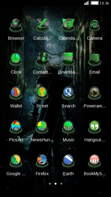 Final Fantastic CLauncher Android Theme Image 2