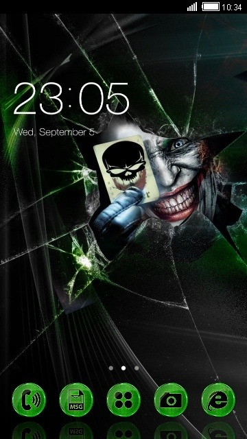 Joker CLauncher Android Theme Image 1