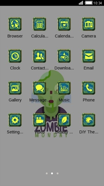Zombie CLauncher Android Theme Image 2