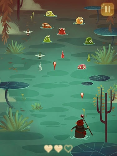 Wizard Vs Swamp Creatures Android Game Image 2