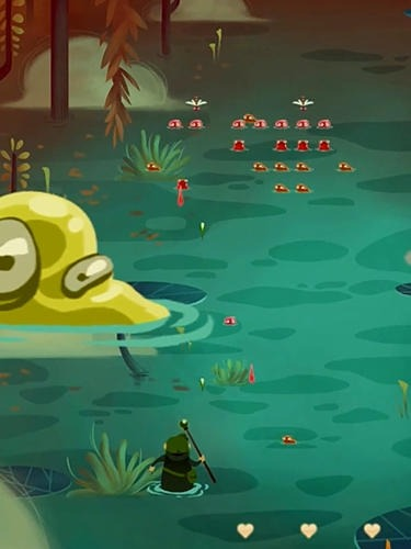 Wizard Vs Swamp Creatures Android Game Image 3