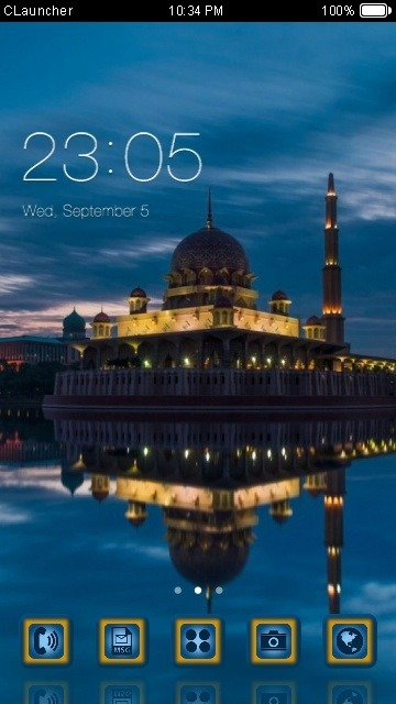 Beautiful Place CLauncher Android Theme Image 1