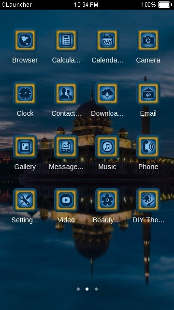 Beautiful Place CLauncher Android Theme Image 2