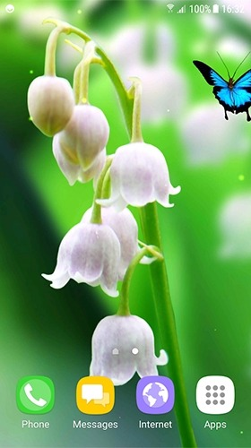 Lilies Of The Valley Android Wallpaper Image 2