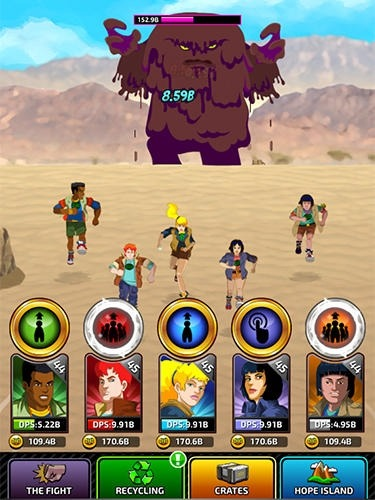 Captain Planet: Gaia Guardians Android Game Image 2