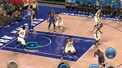 NBA 2K Mobile Basketball Android Game Image 2