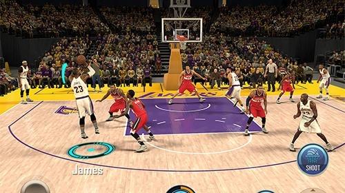 NBA 2K Mobile Basketball Android Game Image 3