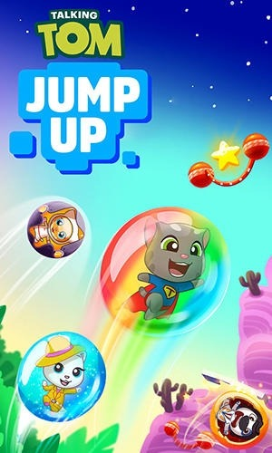 Talking Tom Jump Up Android Game Image 1