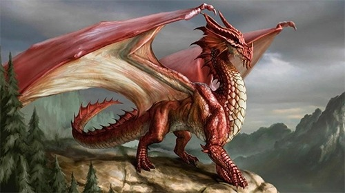 Fire Dragon Android Wallpaper Image 2