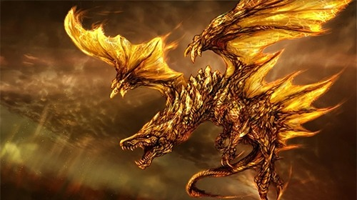 Fire Dragon Android Wallpaper Image 3