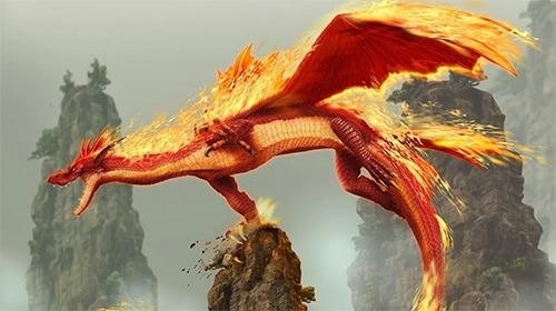 Fire Dragon Android Wallpaper Image 4