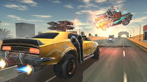 Death Race: Road Battle Android Game Image 3