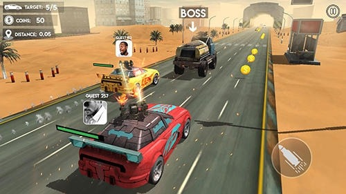 Death Race: Road Battle Android Game Image 4
