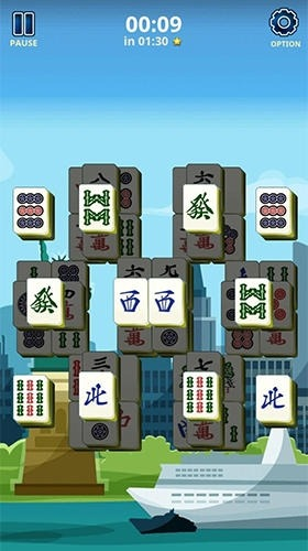 Mahjong Solitaire: Country World Tours Android Game Image 2
