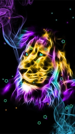 Download Free Android Wallpaper Neon Animals 4302